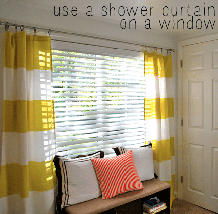 Can I Use Shower Curtain For Window | Gopelling.net