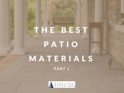 The Best Patio Materials Graphic