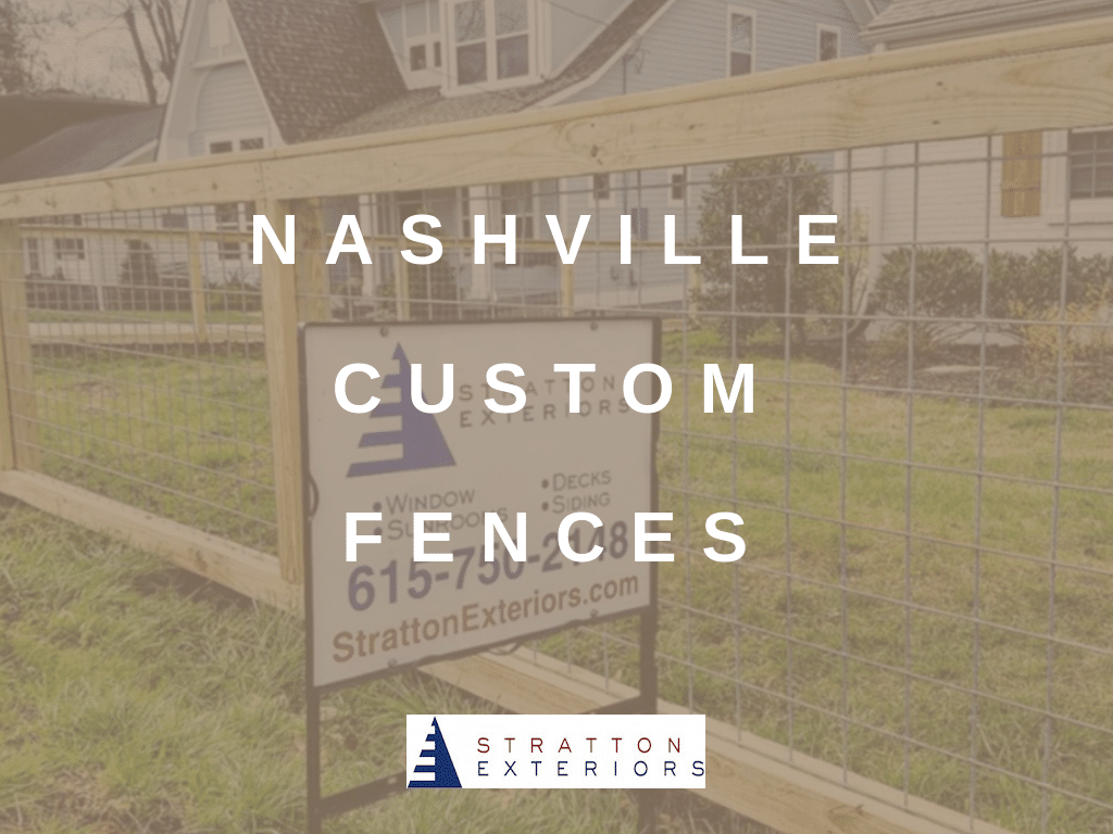 Your Nashville Fence Specialists